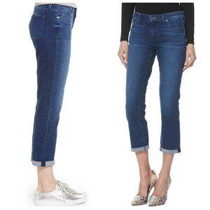 ONLY Cropped Boyfriend Blue Jeans